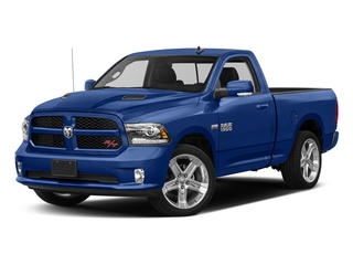 Blue Streak Pearlcoat 2017 Ram Truck 1500 Pictures 1500 Night 4x2 Regular Cab 6'4 Box photos front view