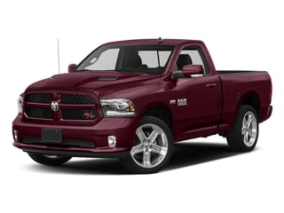 Delmonico Red Pearlcoat 2017 Ram Truck 1500 Pictures 1500 Night 4x2 Regular Cab 6'4 Box photos front view