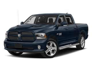 True Blue Pearlcoat 2017 Ram Truck 1500 Pictures 1500 Night 4x4 Crew Cab 5'7 Box photos front view