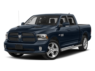 True Blue Pearlcoat 2017 Ram Truck 1500 Pictures 1500 Crew Cab Sport 4WD photos front view