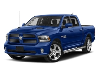 Blue Streak Pearlcoat 2017 Ram Truck 1500 Pictures 1500 Night 4x2 Crew Cab 5'7 Box photos front view