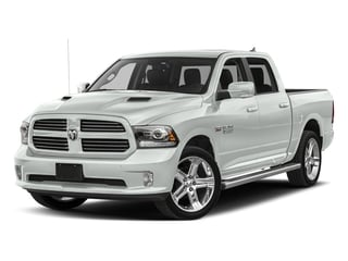Bright White Clearcoat 2017 Ram Truck 1500 Pictures 1500 Night 4x4 Crew Cab 5'7 Box photos front view