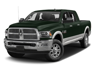 Black Forest Green Pearlcoat 2017 Ram Truck 2500 Pictures 2500 Mega Cab Laramie 4WD photos front view