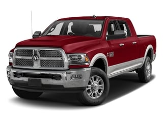 Flame Red Clearcoat 2017 Ram Truck 2500 Pictures 2500 Mega Cab Laramie 4WD photos front view
