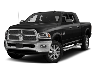 Brilliant Black Crystal Pearlcoat 2017 Ram Truck 2500 Pictures 2500 Mega Cab Limited 2WD photos front view