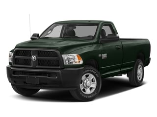 Black Forest Green Pearlcoat 2017 Ram Truck 2500 Pictures 2500 SLT 4x4 Reg Cab 8' Box photos front view