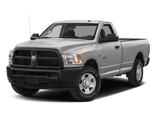Bright Silver Metallic Clearcoat 2017 Ram Truck 2500 Pictures 2500 Regular Cab SLT 2WD photos front view