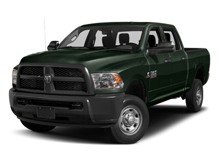 Black Forest Green Pearlcoat 2017 Ram Truck 2500 Pictures 2500 Crew Cab Tradesman 2WD photos front view
