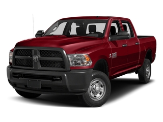Flame Red Clearcoat 2017 Ram Truck 2500 Pictures 2500 Crew Power Wagon Tradesman 4WD photos front view