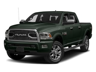 Black Forest Green Pearlcoat 2017 Ram Truck 2500 Pictures 2500 Laramie Longhorn 4x2 Crew Cab 8' Box photos front view
