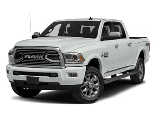 Bright White Clearcoat 2017 Ram Truck 2500 Pictures 2500 Longhorn 4x4 Crew Cab 8' Box photos front view