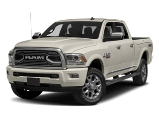 Pearl White 2017 Ram Truck 2500 Pictures 2500 Longhorn 4x4 Crew Cab 6'4 Box photos front view