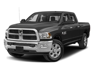 Brilliant Black Crystal Pearlcoat 2017 Ram Truck 2500 Pictures 2500 Crew Cab SLT 2WD photos front view