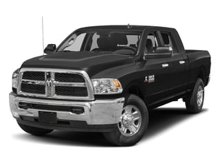 Black Clearcoat 2017 Ram Truck 2500 Pictures 2500 Mega Cab SLT 4WD photos front view
