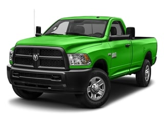 Hills Green 2017 Ram Truck 3500 Pictures 3500 SLT 4x4 Reg Cab 8' Box photos front view