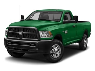 Bright Green 2017 Ram Truck 3500 Pictures 3500 SLT 4x4 Reg Cab 8' Box photos front view