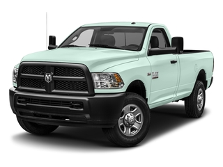 Robin Egg Blue 2017 Ram Truck 3500 Pictures 3500 SLT 4x4 Reg Cab 8' Box photos front view