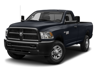 Midnight Blue Pearlcoat 2017 Ram Truck 3500 Pictures 3500 SLT 4x4 Reg Cab 8' Box photos front view