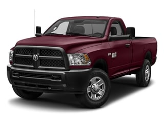 Delmonico Red Pearlcoat 2017 Ram Truck 3500 Pictures 3500 SLT 4x4 Reg Cab 8' Box photos front view