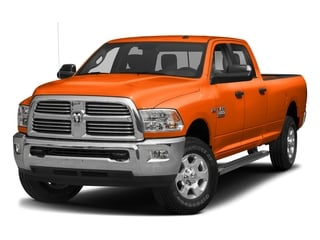 Omaha Orange 2017 Ram Truck 3500 Pictures 3500 Big Horn 4x2 Crew Cab 6'4 Box photos front view
