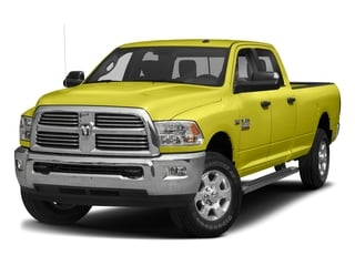 National Safety Yellow 2017 Ram Truck 3500 Pictures 3500 Crew Cab SLT 2WD photos front view
