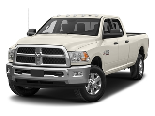 Pearl White 2017 Ram Truck 3500 Pictures 3500 Limited 4x4 Crew Cab 8' Box photos front view