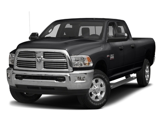 Black Clearcoat 2017 Ram Truck 3500 Pictures 3500 Big Horn 4x2 Crew Cab 6'4 Box photos front view
