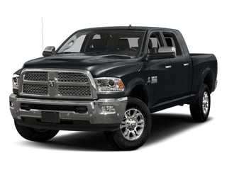 Maximum Steel Metallic Clearcoat 2017 Ram Truck 3500 Pictures 3500 Laramie Longhorn 4x2 Mega Cab 6'4 Box photos front view