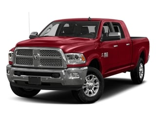 Flame Red Clearcoat 2017 Ram Truck 3500 Pictures 3500 Laramie Longhorn 4x2 Mega Cab 6'4 Box photos front view