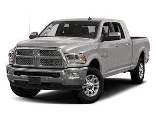 Bright Silver Metallic Clearcoat 2017 Ram Truck 3500 Pictures 3500 Mega Cab Longhorn 4WD photos front view
