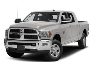 Bright Silver Metallic Clearcoat 2017 Ram Truck 3500 Pictures 3500 Mega Cab SLT 4WD photos front view