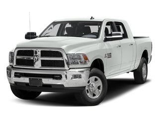 Bright White Clearcoat 2017 Ram Truck 3500 Pictures 3500 SLT 4x2 Mega Cab 6'4 Box photos front view