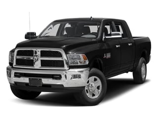 Black Clearcoat 2017 Ram Truck 3500 Pictures 3500 SLT 4x2 Mega Cab 6'4 Box photos front view