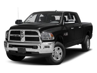 Brilliant Black Crystal Pearlcoat 2017 Ram Truck 3500 Pictures 3500 Mega Cab SLT 4WD photos front view