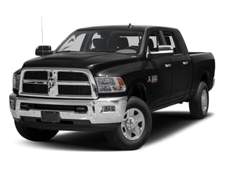 Brilliant Black Crystal Pearlcoat 2017 Ram Truck 3500 Pictures 3500 SLT 4x2 Mega Cab 6'4 Box photos front view