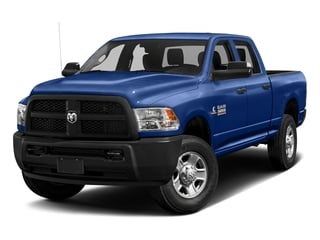 Blue Streak Pearlcoat 2017 Ram Truck 3500 Pictures 3500 Tradesman 4x2 Crew Cab 8' Box photos front view