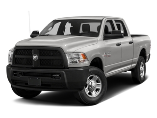 Bright Silver Metallic Clearcoat 2017 Ram Truck 3500 Pictures 3500 Crew Cab Tradesman 4WD photos front view