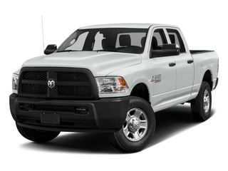 Bright White Clearcoat 2017 Ram Truck 3500 Pictures 3500 Crew Cab Tradesman 4WD photos front view