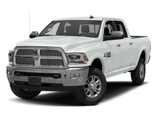 Bright White Clearcoat 2017 Ram Truck 3500 Pictures 3500 Crew Cab Laramie 4WD photos front view
