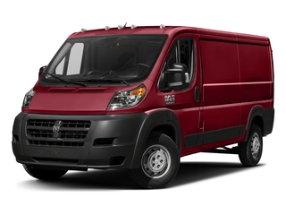Deep Cherry Red Crystal Pearlcoat 2017 Ram Truck ProMaster Cargo Van Pictures ProMaster Cargo Van 1500 Low Roof 136 WB photos front view