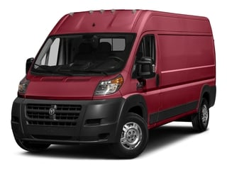 Deep Cherry Red Crystal Pearlcoat 2017 Ram Truck ProMaster Cargo Van Pictures ProMaster Cargo Van 3500 High Roof 159 WB photos front view