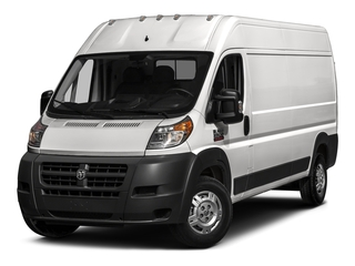 Bright Silver Metallic Clearcoat 2017 Ram Truck ProMaster Cargo Van Pictures ProMaster Cargo Van 3500 High Roof 159 WB photos front view