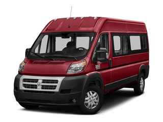 Flame Red Clearcoat 2017 Ram Truck ProMaster Window Van Pictures ProMaster Window Van 2500 High Roof 159 WB photos front view