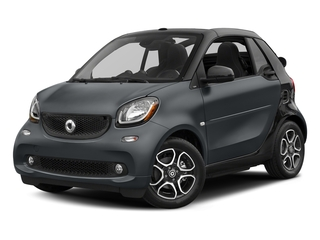 Titania Grey Matte 2017 smart fortwo Pictures fortwo Convertible 2D Prime I3 Turbo photos front view