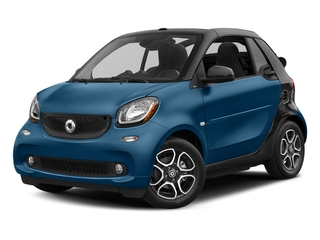 Midnight Blue Metallic 2017 smart fortwo Pictures fortwo Convertible 2D Prime I3 Turbo photos front view