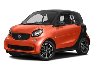 Lava Orange Metallic 2017 smart fortwo Pictures fortwo Coupe 2D Pure I3 Turbo photos front view