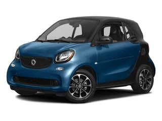 Midnight Blue Metallic 2017 smart fortwo Pictures fortwo Coupe 2D Pure I3 Turbo photos front view