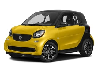 Black-to-Yellow Metallic 2017 smart fortwo Pictures fortwo Coupe 2D Pure I3 Turbo photos front view