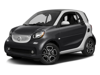 Black 2017 smart fortwo Pictures fortwo Coupe 2D Proxy I3 Turbo photos front view