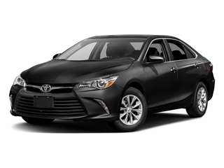 Midnight Black Metallic 2017 Toyota Camry Pictures Camry Sedan 4D XLE I4 photos front view